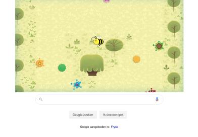 Google geeft aandacht aan bijen