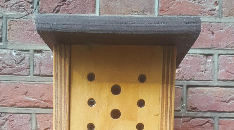 Bijenhotel aanvragen?
